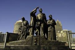 Памятник к подземной железной дороге Стоковое Изображение