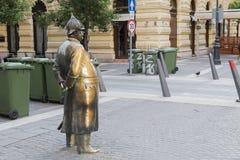 Памятник к полицейскию на обязанности Стоковые Фото
