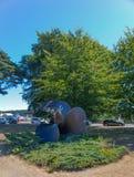 Памятник к пропеллеру корабля Стоковое Изображение RF