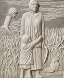 Памятник к работникам домашней сферы Стоковые Изображения