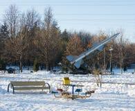 Памятник к ракете Стоковые Фотографии RF
