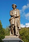 Памятник к Рембрандту Стоковое фото RF
