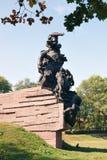 Памятник к советским гражданам и солдатам пленов и офицерам Советской Армии, убитым нацистом Стоковое Изображение