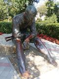 Памятник к солдату войны Стоковые Изображения RF