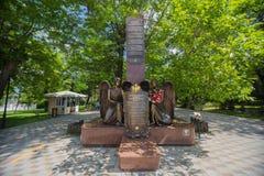 Памятник к солдатам Novorossiysk, Россия 21 05 2017 Стоковое Изображение