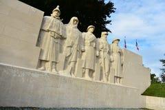 Памятник к сыновььям Вердена Стоковое Изображение RF