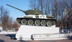 Памятник к танку Стоковые Изображения RF