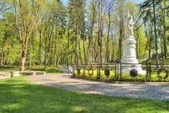 Памятник к ферзю Пруссии Луизы, жены Фредерика Willi Стоковое Изображение RF