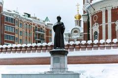 Памятник к царю Fedor i Ioannovich Стоковые Фотографии RF