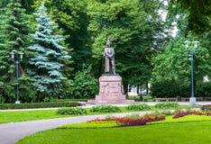 Памятник к Barclay de Tolly, Риге, Латвии Стоковое фото RF