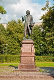 Памятник к Emmanuel Kant. Стоковые Фотографии RF