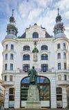 Памятник к Gutenberg, вене стоковые фото