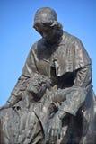 Памятник к Jeanne Mance Стоковая Фотография RF