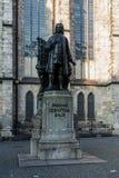 Памятник к Johann Sebasian Bach Стоковые Фотографии RF
