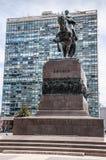 Монтевидео, Уругвай - памятник к Artigas Стоковое Фото