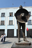 Памятник к mariachi Ксавьеру Solis Стоковое Изображение RF