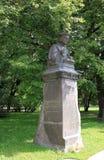 Памятник к Mikael Agricola в Выборге, России Стоковая Фотография