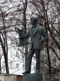 Памятник к Sergey Obraztsova и кукле Кармену Стоковые Фотографии RF