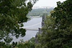 Памятник к St Владимиру Стоковые Изображения