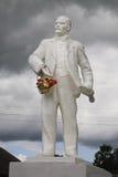 Памятник Ленина в Kargopol Россия стоковое фото rf