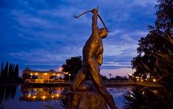 памятник лучника к стоковые изображения rf