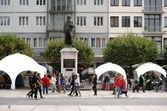 Памятник Майнц Gutenberg стоковое фото