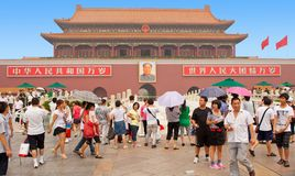 Памятник Мао Дзе Дун Пекина квадрата Tienanmen стоковые фото