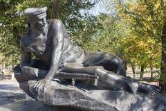 Памятник массовое захоронение моряков участников Стоковые Фото