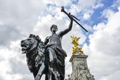 Памятник мемориала Виктории Стоковые Изображения RF