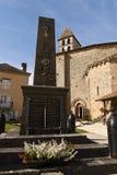 WW1 и WW2 памятник Святой-Джин de Коул стоковые фото