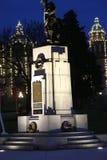 Памятник мировой войны в Виктории Стоковые Фотографии RF