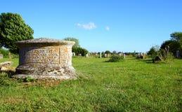 памятник могилы elizabeth кашевара Стоковая Фотография