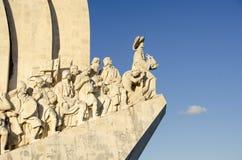 Памятник Мор-Открытий в Лиссабон, Португалии Стоковые Изображения RF
