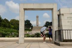 Памятник Нанкина Yuhuatai Стоковые Фото