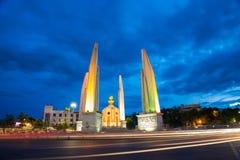 Памятник народовластия в Бангкок Стоковое фото RF