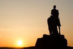 Памятник на Gettysburg к восьмой Голгофе стоковое фото rf