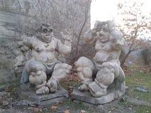 Памятник на Mzkheta, Georgia стоковое фото rf