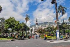 Памятник независимости Кито Стоковое Изображение