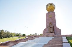 Памятник независимости стоковая фотография rf