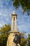 Памятник непорочного зачатия, Севилья, Испания Стоковое Изображение