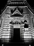 Памятник ночи готический в Пистойя Стоковые Фотографии RF