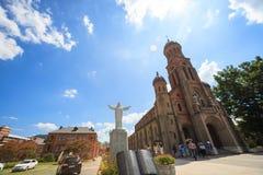 Памятник ориентир ориентира Чонджу Кореи городского пейзажа Стоковые Изображения
