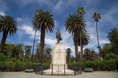 Памятник основателя в Salta, Аргентине Стоковая Фотография