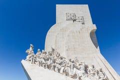 Памятник открытий в Лиссабоне, Португалии Стоковая Фотография RF