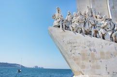Памятник открытий в Лиссабоне Стоковое Изображение RF