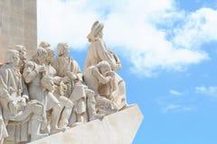 Памятник открытий в Лиссабоне Стоковые Фото