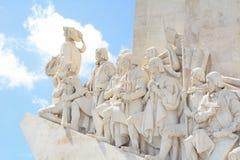 Памятник открытий в Лиссабоне Стоковые Фотографии RF