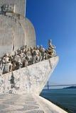 памятник открытий к Стоковое фото RF