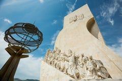 Памятник открытий, Лиссабон, Португалия Стоковое фото RF