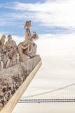 Памятник открытий, Лиссабон, Португалия - 3-ье марта 2016: Стоковое Изображение RF